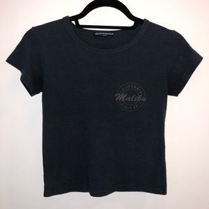 Brandy Melville cropped T-shirt